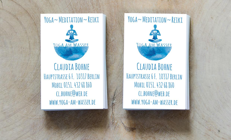 Visitenkarten von Claudia Bohne